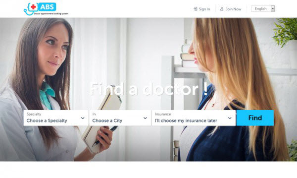 Zocdoc clone - doctor appointment booking softwarre