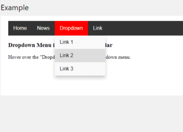 Hoverable dropdown menu with CSS preview