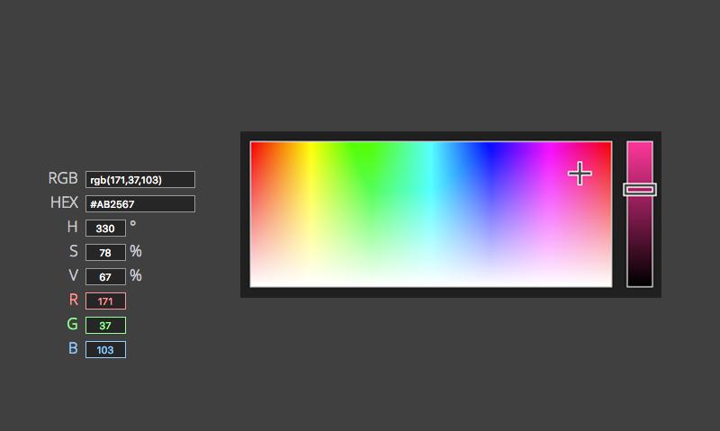 jscolor Color Picker