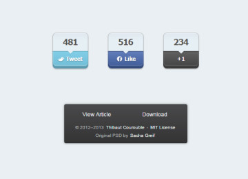 jQuery Floating Social Share Plugin – Scriptism